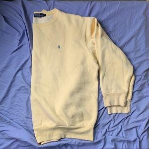 Yellow Polo Sweatshirt